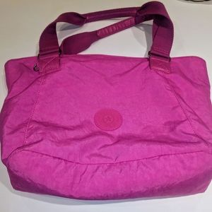 Kipling Hot Pink Travel Bag Handbag Hot Pink